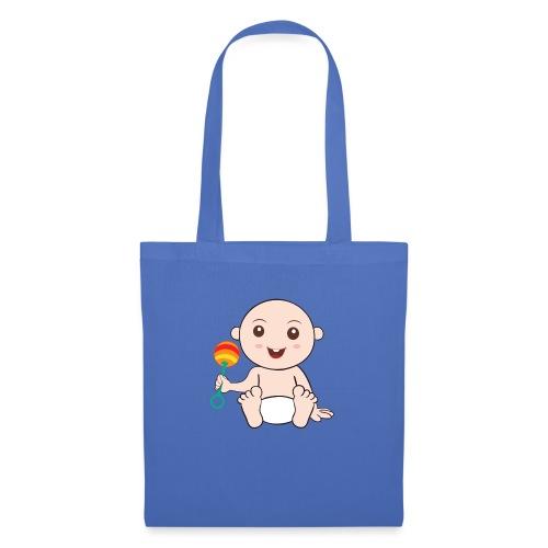 Glückliches Baby - Stoffbeutel