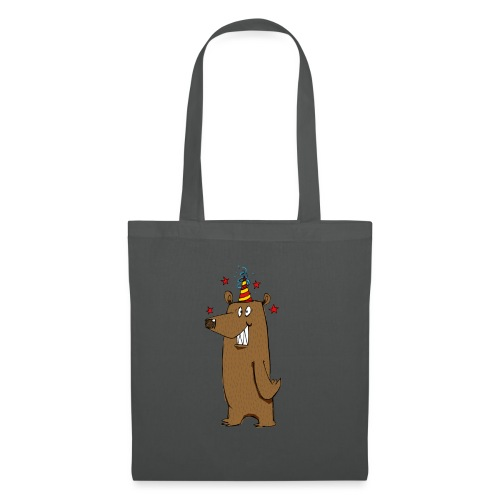 Party Bear Love Friday weekend fun Bear - Borsa di stoffa
