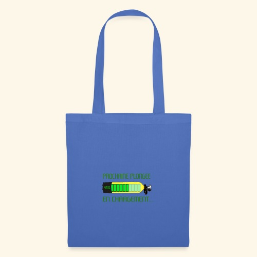 plongee en charge - Tote Bag