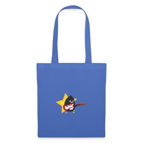 Pingouin Guitariste - Tote Bag