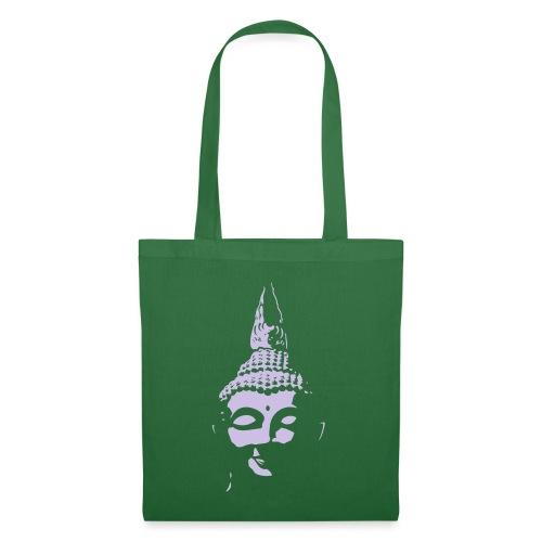 Boeddha hoofd diapositief - Tas van stof