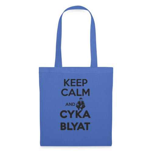 Keep Calm and Suka Blyat - Bolsa de tela