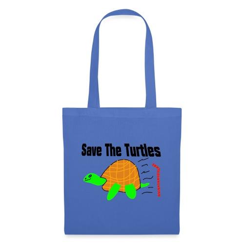 save the turtles - Stoffveske