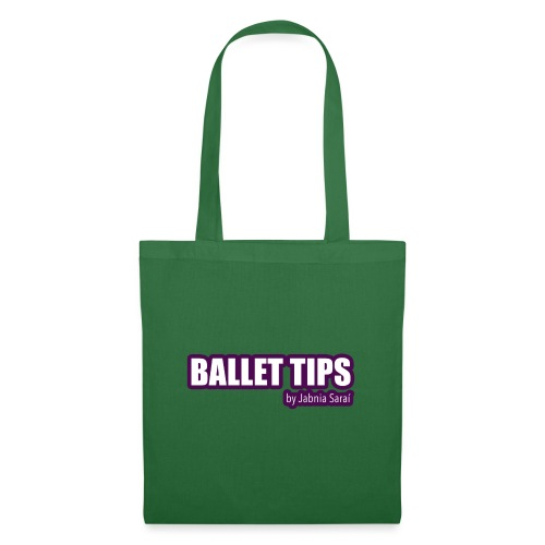 ballet tips - Bolsa de tela