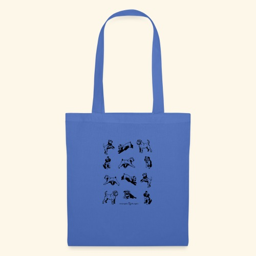 Brussels Griffon pattern - Tote Bag