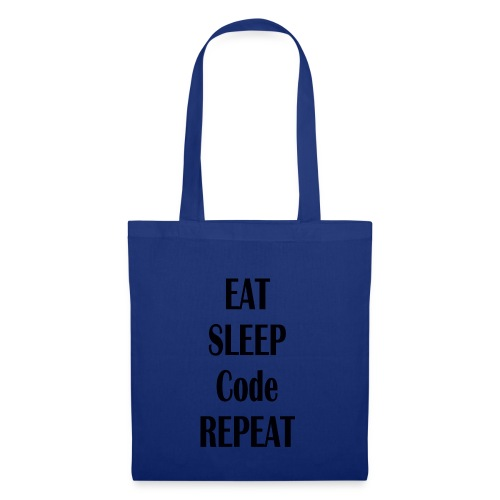 EAT SLEEP CODE REPEAT - Stoffbeutel