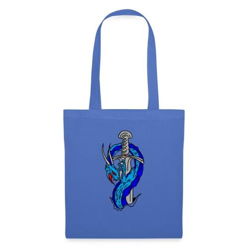daga dragon vectorizado - Bolsa de tela