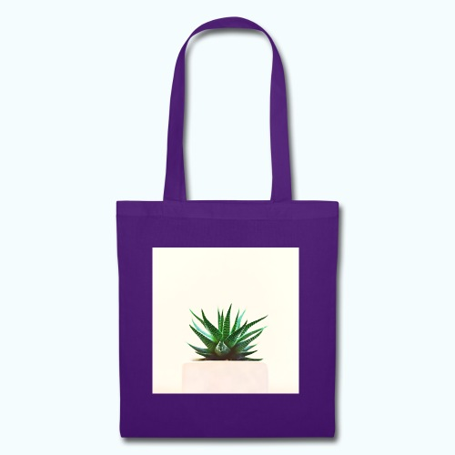 Simple plant minimalism watercolor - Tote Bag