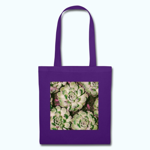 Summer garden plants watercolor nature - Tote Bag