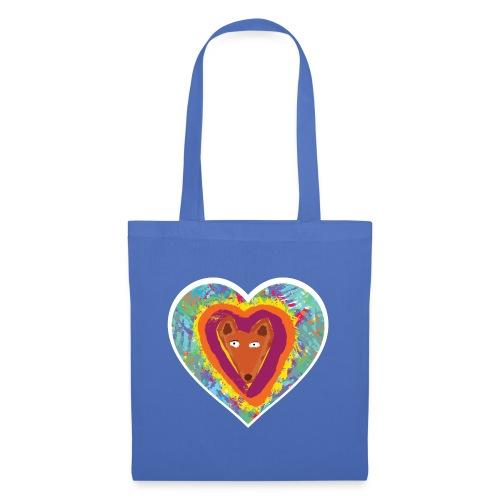 Foxy Heart - Tote Bag