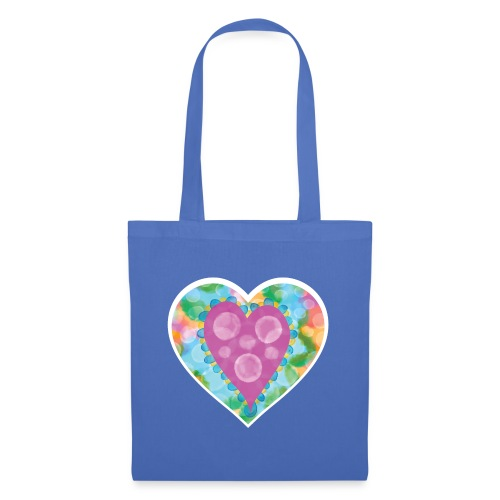 Heart Bubbles make you float - Tote Bag