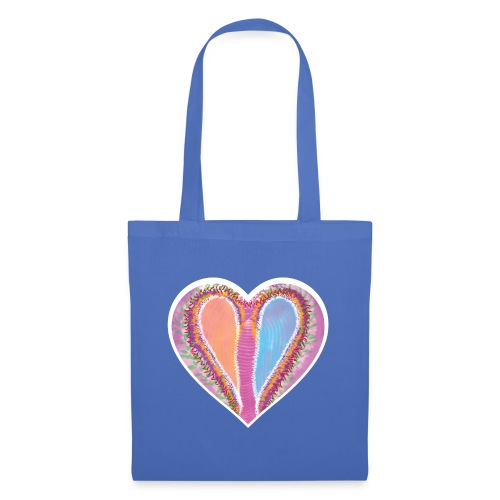 Hearts dont split, they get wings - Tote Bag