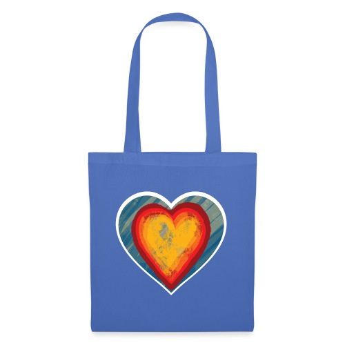 Warm lovely heart - Tote Bag