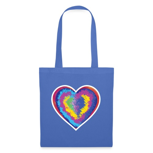 Colorful Heart - Tote Bag