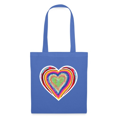 A heart in hearts is pure love on many levels - Tote Bag