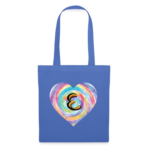Eh, have a heart for a name that starts with E - Tote Bag