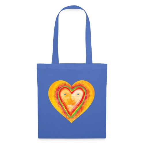 Heartface - Tote Bag