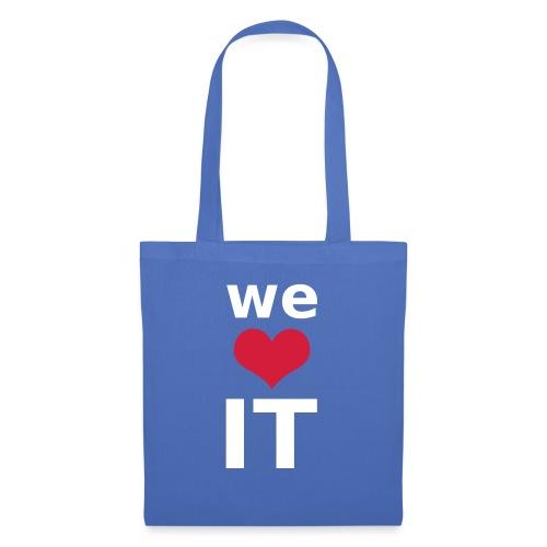Nur für Admins - We Love IT - Stoffbeutel