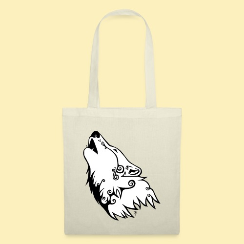Le Loup de Neved (version blanche) - Tote Bag