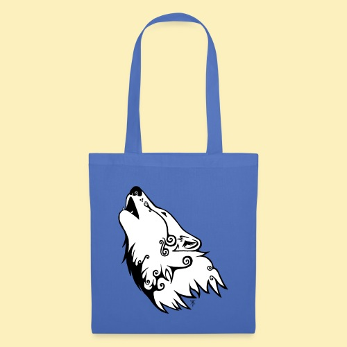 Le Loup de Neved (version blanche) - Tote Bag