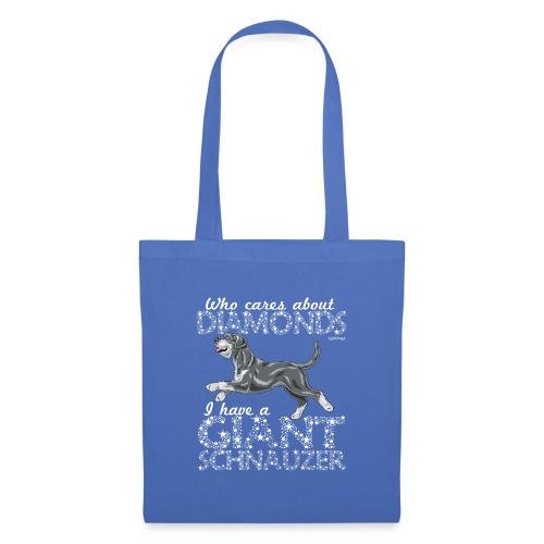 Giant Schnauzer Diamonds2 - Tote Bag