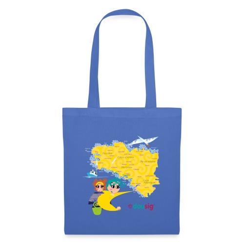 Carte de la Bretagne Dousig - Tote Bag