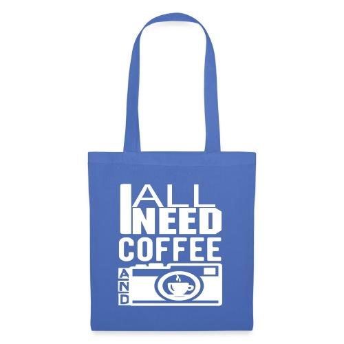 All i need is coffee and my camera - Sac en tissu