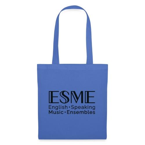 ESME Logo Schwartz - Stoffbeutel