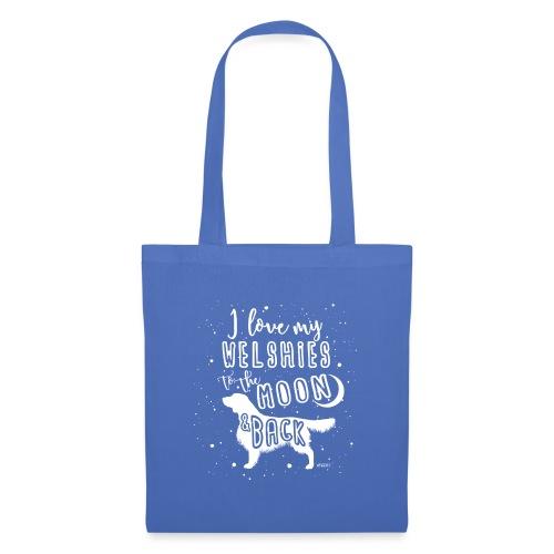 Welsh Springer Spaniel Moon 2 - Tote Bag