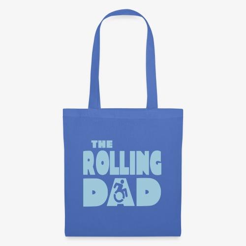 > De rollende papa in een rolstoel - Tas van stof