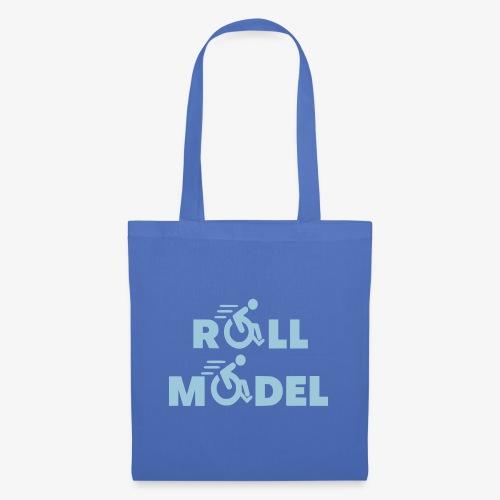 Elke rolstoel gebruiker is een roll model - Tas van stof