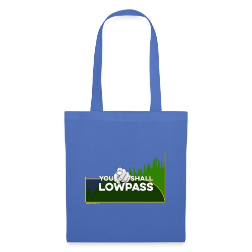 You shall Low Pass (Green) - Tote Bag