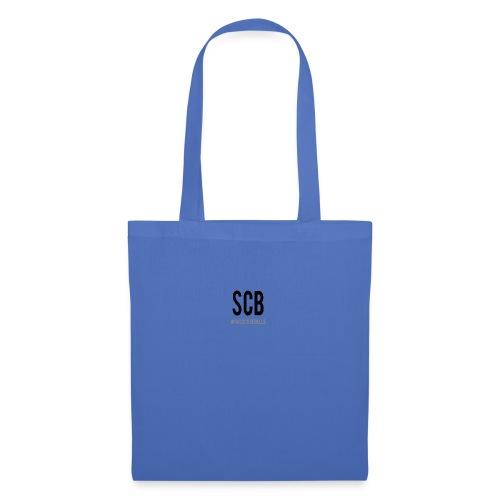 scb scritta nera - Borsa di stoffa