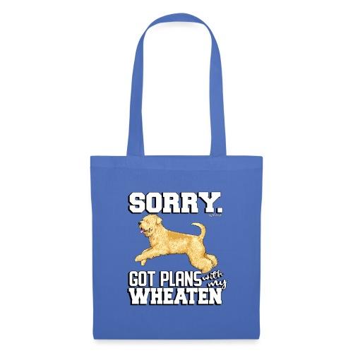 Wheaten Terrier Plans - Tote Bag