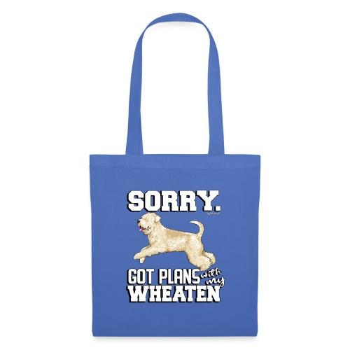 Wheaten Terrier Plans 2 - Tote Bag