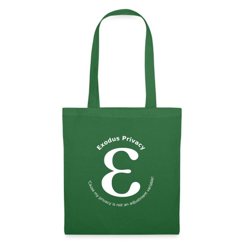 Exodus privacy avec Logo et slogan - Sac en tissu