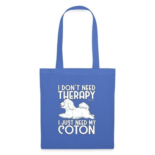 Coton De Tuléar Therapy 2 - Tote Bag