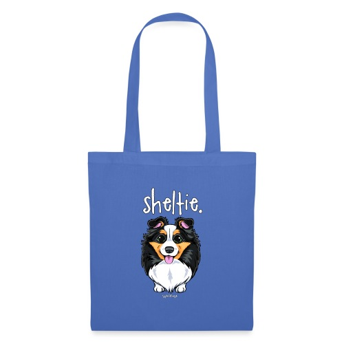 Sheltie Dog Cute 6 - Tote Bag