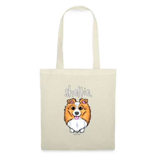 Sheltie Dog Cute 5 - Tote Bag