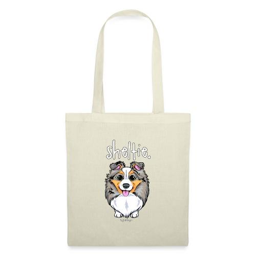 Sheltie Dog Cute 4 - Tote Bag
