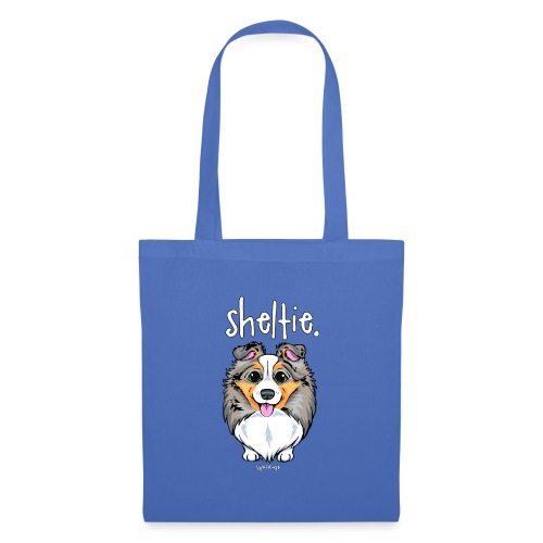 Sheltie Dog Cute 4 - Tote Bag
