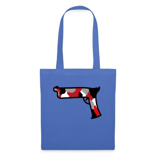 strijdR T-shirt pistol black - Tas van stof