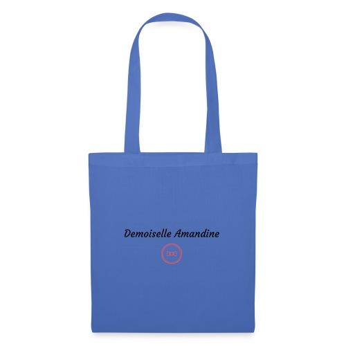 Demoiselle Amandine - Sac en tissu