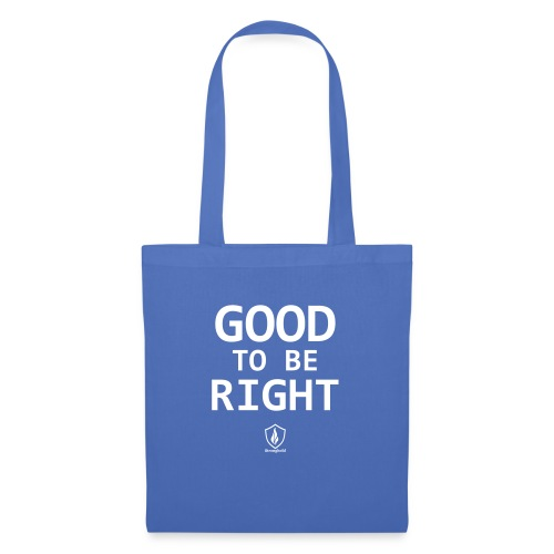 Good to be Right - Stoffbeutel