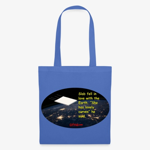 Slab and the Curvy Earth - Tote Bag