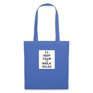 keep-calm-and-baila-salsa-41 - Borsa di stoffa