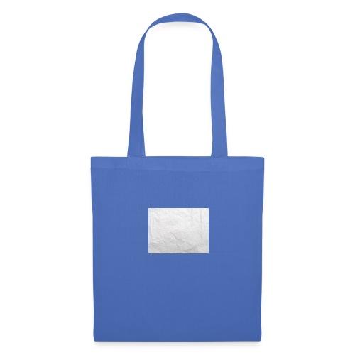 Crumpled White Paper Texture - Tote Bag