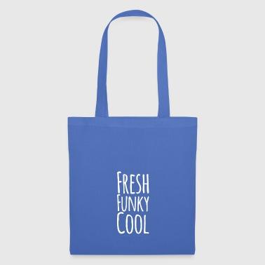 Fresh Funky Cool white - Tote Bag