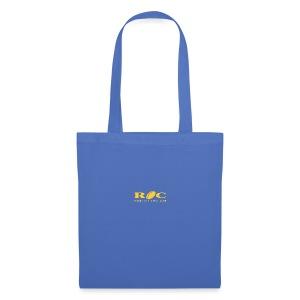 ROC Jaune sur bleu - Tote Bag