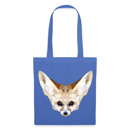 Fennec low poly - Tote Bag